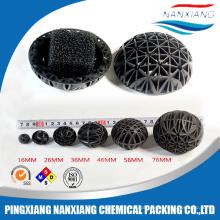 Aquários Bio Bola Filtro De Plástico Pp Pvc Torre De Resfriamento De Enchimento Meios De Embalagem Rodada E Retângulo Torre De Resfriamento PVC