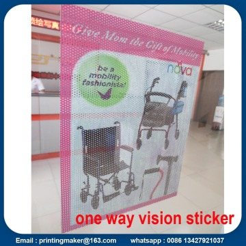 Self Adhesive Mesh One Way Vision Window Sticker