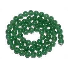 4MM Green Aventurine Round Beads