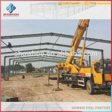 leichte Stahllager vorgefertigte Halle Stahl Gebäude Kits zum Verkauf