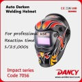 solar power auto darkening welding helmet/welding mask code.7072
