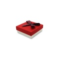 Exquisite paper gift box with ribbon