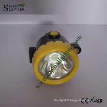 Rechargeable IP68 Waterproof LED Mining Head Lamp