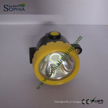 Lâmpada sem fio à prova de explosivos da cabeça da lâmpada de tampão dos mineiros da lâmpada de mineração