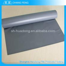 Borracha de silicone de alta resistência à tração de isolamento impregnado de tecido de fibra de vidro