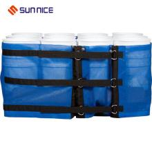 Película resistente do envoltório plástico para películas do pacote da pálete
