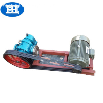LC high viscosity lobe oil pump with heat insulating