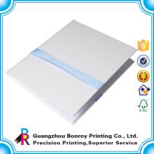 Design personalizado Impresso caderno de luxo