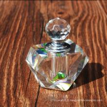 Récipient vide de verre en cristal de 3ml pour la bouteille de parfum de corps et les cadeaux de mariage