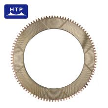 piezas de transmisión de diseño personalizado discos de fricción de Sinter a base de cobre para Caterpillar 3F5504