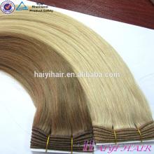 Volume luxuoso do cabelo humano do russo da venda por atacado do nível completo cheio da cutícula uma
