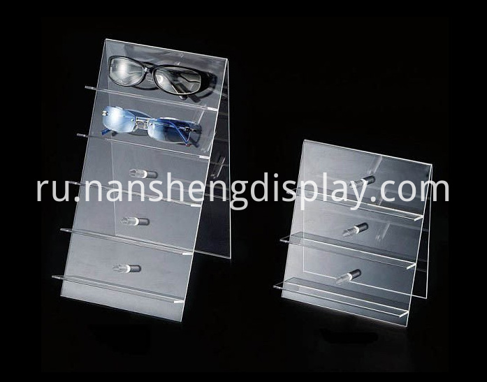 Acrylic Glasses Eyewear Display Stand