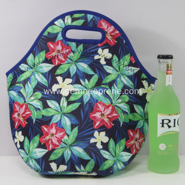 Neoprene lunch bag for office workers and kids