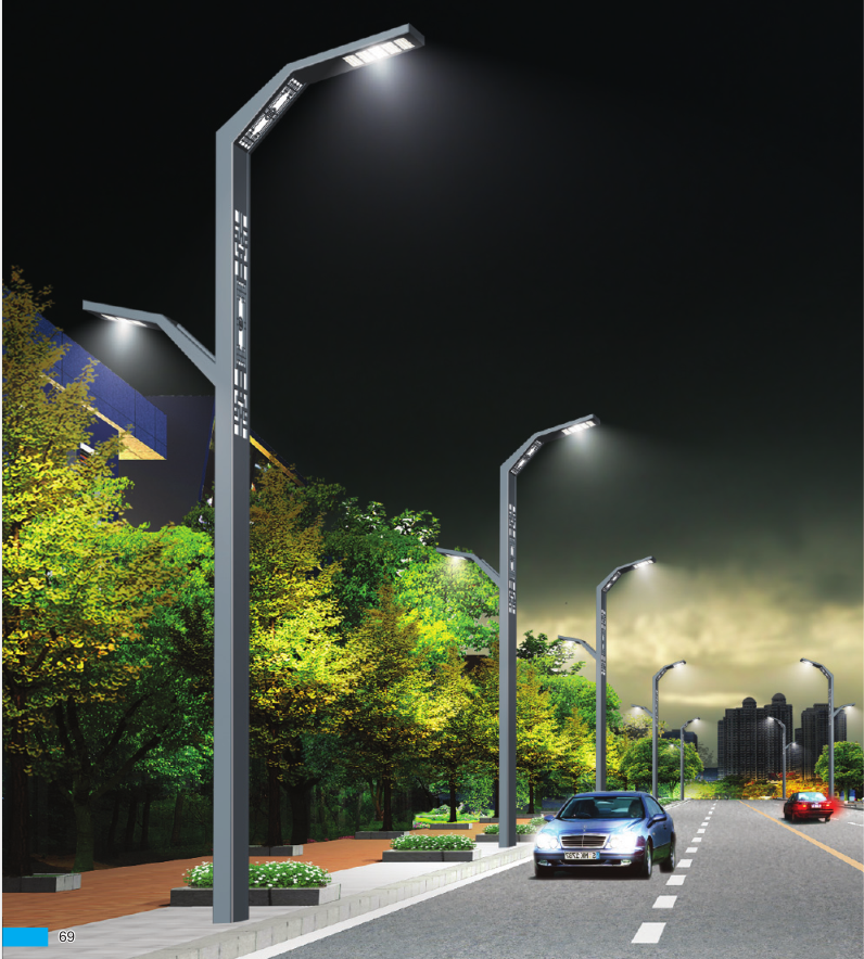 LED Road Lighting System