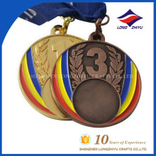 Hot selling custom logo stamping awards China cup medal for souvenir