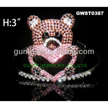 Valentine couronne de tiare d'ours