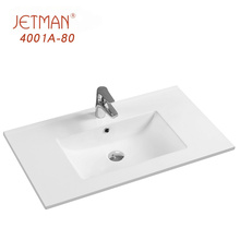 Thin Edge Ceramic Basin 810*460 Single Bowl