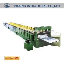 La venta caliente y la buena calidad JCX 51-240-720 rodillo del panel de la cubierta del piso que forma la máquina
