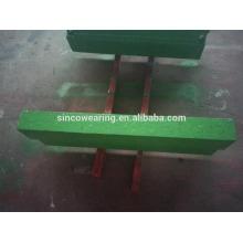 Keramikeinsatz Blasbar hoch Chrom Cr26 Cr20Mo Cr15Mo Martensitischer Mangan - Schlagbrecher Ersatzteile