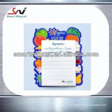 Imán barato del refrigerador de la decoración de la fabricación de papel de cobre