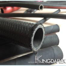 manguera hidráulica con cubierta trenzada y fibra reforzada con fibra