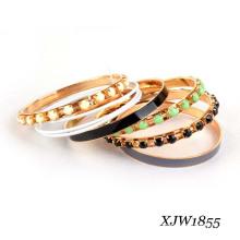 Ensemble de bracelets en fer émaillé en perles (XJW1855)