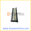 19 inch Cat 5e FTP patch panel, terlindungi sepenuhnya