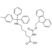L-Lysine,N2-[(9H-fluoren-9-ylmethoxy)carbonyl]-N6-[(4-methylphenyl)diphenylmethyl] CAS 167393-62-6