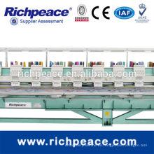 Richpeace computadorizada máquina de bordado plana