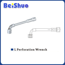 L Perforation Wrench with Hole for Car Repair