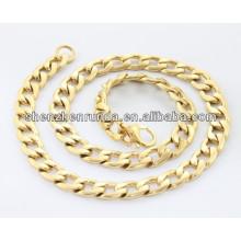 316L Edelstahl Halskette für Männer IP / G Edelstahl Seil Kette Halskette
