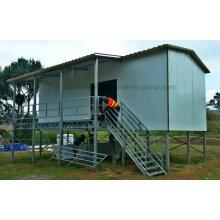 Gut aussehende Stahl Fertigmodell Haus für Familiengebrauch