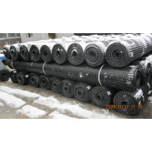 High Tensile Plastic PP Biaxial Geogrid for Road