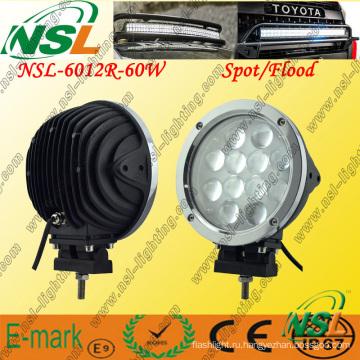Светодиодная рабочая лампа 12ПК * 5 Вт, Светодиодная рабочая лампа 5100 лм, Светодиодная рабочая лампа 60 Вт для грузовых автомобилей
