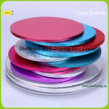 Venta al por mayor de Cake-Boards, Cake-Drums con diverso papel de aluminio de las venas (B & C-K078)