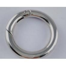 Spring Leaver Ring Clasp Bijoux et composants Round Donut Shaped