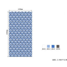 Mosaic Tile Flowers Pictures Pattern Classical Mosaic Mural White and Black Glass Mosaic