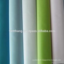 """60% coton + 40% polyester TISSU TISSÉ / Blanchiment / Uni / Largeur: 60 """""""