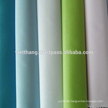 """60% Cotton +40% Polyester WOVEN FABRIC/ Whitening/Plain/Width:60"""""""