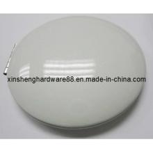 Espelho novo compacto da forma do metal 2X / 1X (XS-M0106)