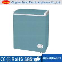 Color Comercial Single solid puerta pecho congelador