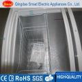 R134A Commercial Sliding Door Glass Top Chest Deep Freezer