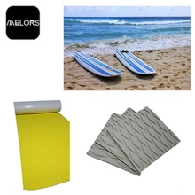 Melors Anti-Slip Deck Prancha de Surf Pad Grip Pad