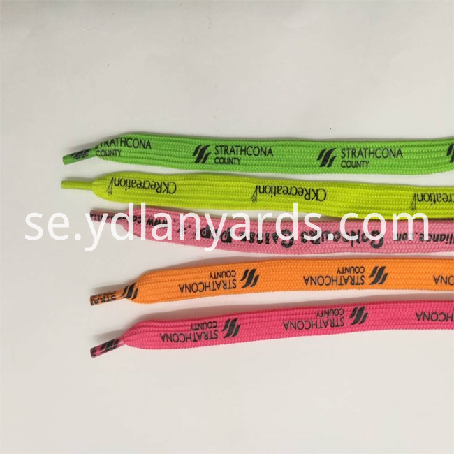 Printed Custom Shoe lace