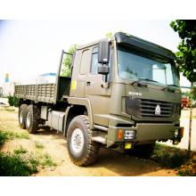 ZZ1257M4341V 6 * 4 howo camión de carga / HOWO camión de caja de carga / HOWO camioneta / HOWO camión de transporte de carga / HOWO camioneta de transporte