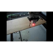 Máquina de corte por láser de CO2 para corte de metales y no metales.