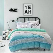 Nuevo diseño de cama de algodón impreso reactivo