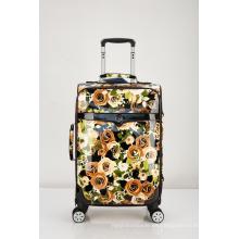 Nuevo equipaje de EVA Trolley de la tela de la impresión