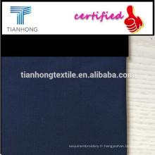 100 % coton fils teints tissu / tissu de fils teints couleur simple
