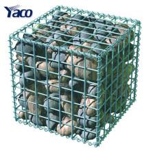 1 * 1 * 1 m 1 * 1 * 0.5 m tipo soldado gaiola de pedra gabion galvanizado para diy parede do jardim